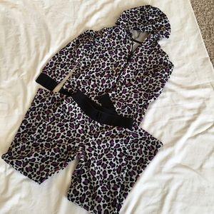 Circo velour pantsuit. Girls size M 7/8🌹
